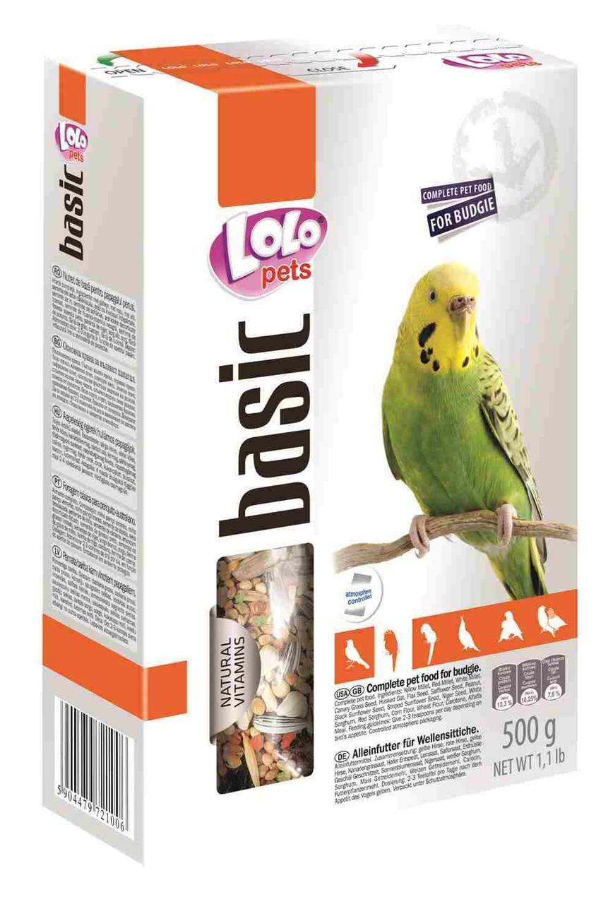 Корм для попугаев, 500 г,  Lolopets
