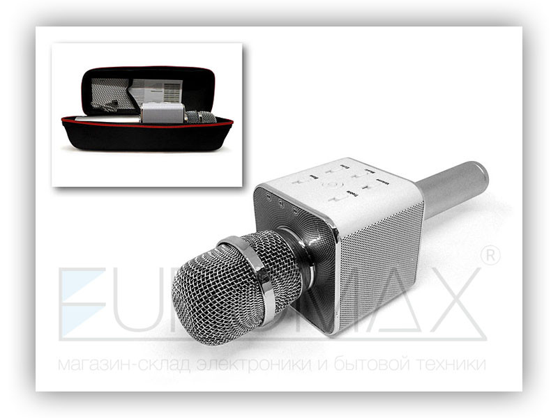 Микрофон караоке в чехле (цвета) 40шт Q7-MIC-BAG
