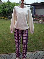 ( 50 р ) флисовый домашний теплый комбинезон костюм пижама кигуруми