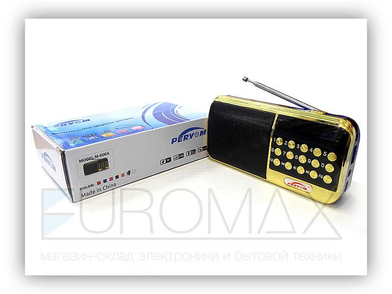 Радиоприемник MP3 USB A2-M-606A