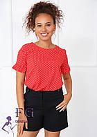 Річна блузка з короткими рукавами 022 В/04, фото 1