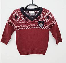 Дитячий светр для хлопчика BRUMS Італія 133BDHC012 бордовий