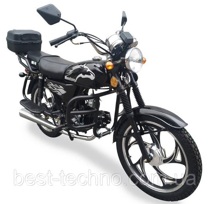 Мотоцикл Musstang Alfa MT125-2