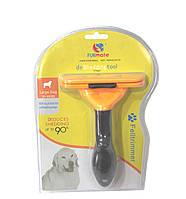 Фурминатор deShedding tool для кошек и собак 10см