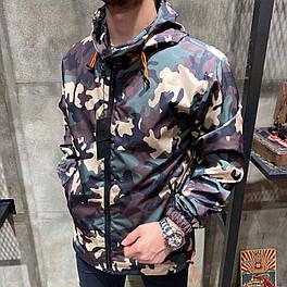Вітрівка Чоловіча куртка вітровка на осінь камуфляж