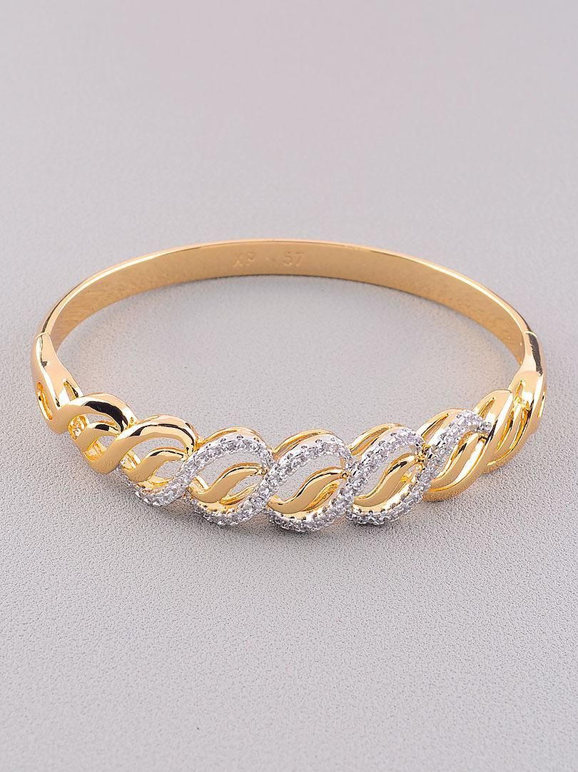Браслет Фианит медицинское золото Xuping Jewelry  Jewelry покрытие изделия позолота и родий