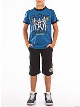 Детский комплект для мальчика BRUMS Италия 151BFEM004 синий + темно-синий 161