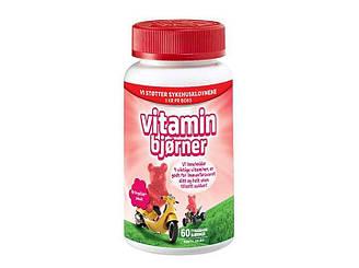 Витамины мишки жевательные для детей с комплексом - 60 жевательных таблеток Норвегия