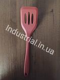 Набор силиконовых кухонных принадлежностей 5 шт Красный, фото 2