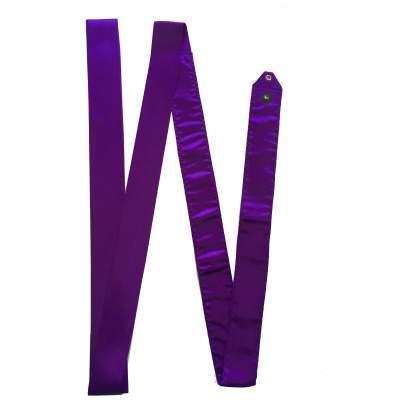 Лента для художественной гимнастики Deportivo  4 м Фиолетовая