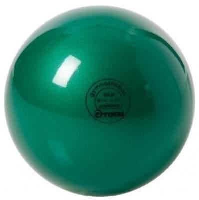 Мяч для художественной гимнастики TOGU 300 г 16см  Зеленый перламутр ТОГУ 430418