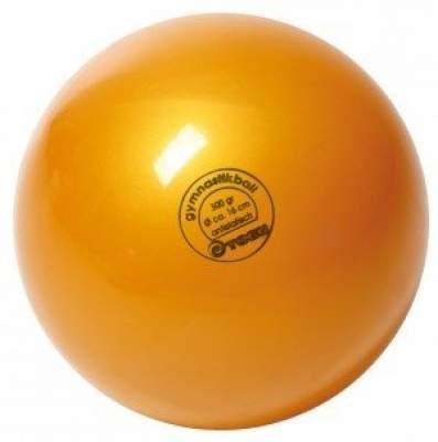 М'яч для художньої гімнастики TOGU 300 г 16см Золото ТОГУ 430420