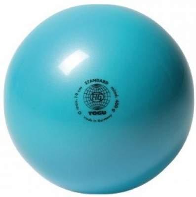 М'яч для художньої гімнастики TOGU 400 г 19см Бірюза ТОГУ 445412