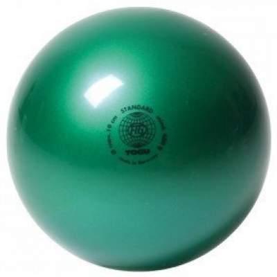 Мяч для художественной гимнастики TOGU 400 г 19см Зеленый перламутр ТОГУ 445418