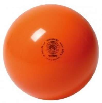 Мяч для художественной гимнастики TOGU 400 г 19см Оранжевый ТОГУ 445407