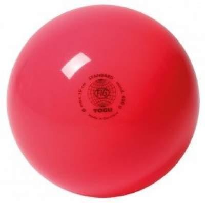Мяч для художественной гимнастики TOGU 400 г 19см Ярко-розовый ТОГУ 445411