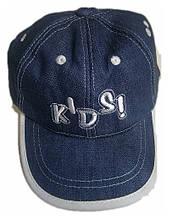 Бейсболка джинсова