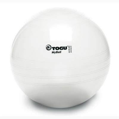 Фитбол TOGU Майбол 65см Прозрачный 404660 (до 500кг)