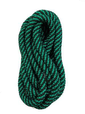 Скакалка для художественной гимнастики Deportivo 3м черно-зеленая 22993026