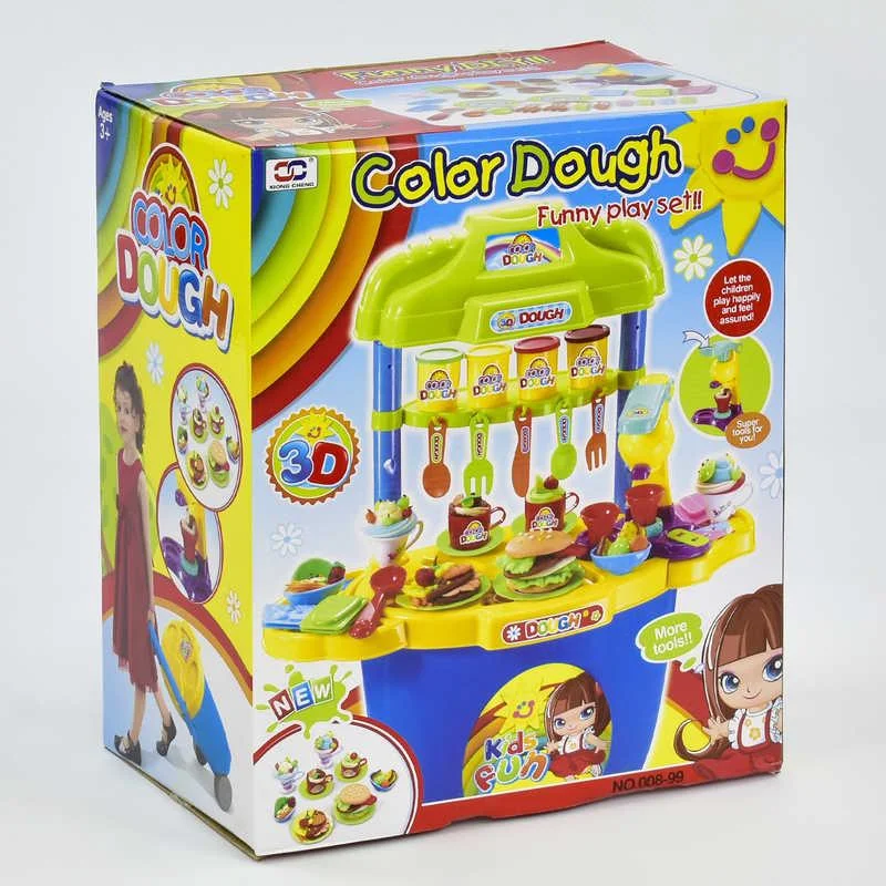Детский игровой набор Тесто для лепки c аксессуарами