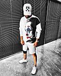 😜 Свитшот - Мужской свитшот белый Joker, фото 2