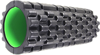 Ролер масажний Power System Fitness Foam Roller PS-4050 Black/Green