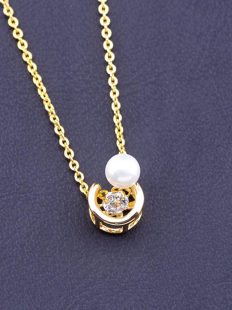 Подвеска медицинское золото Xuping Jewelry  Jewelry Майорка 40 см  покрытие позолота