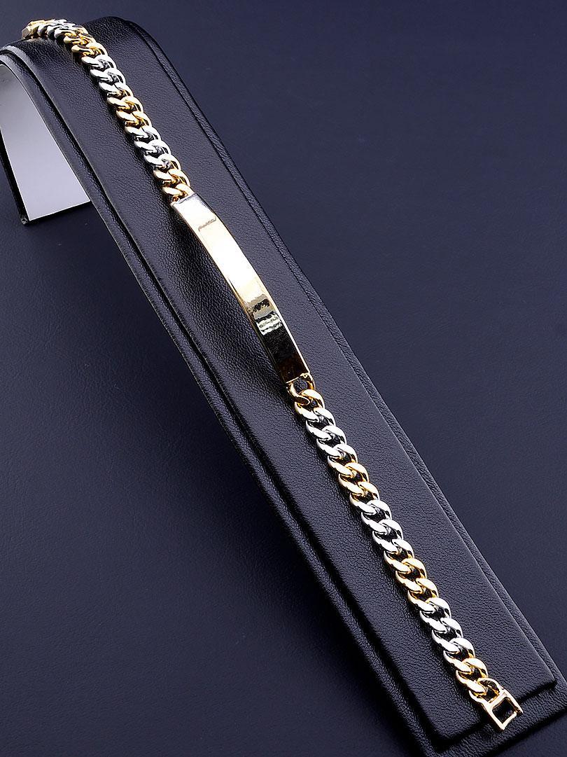 Браслет медицинское золото Xuping Jewelry  Jewelry 20 см  покрытие изделия позолота и родий