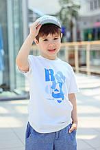 Дитяча футболка для хлопчика Byblos Італія BU1051 Білий