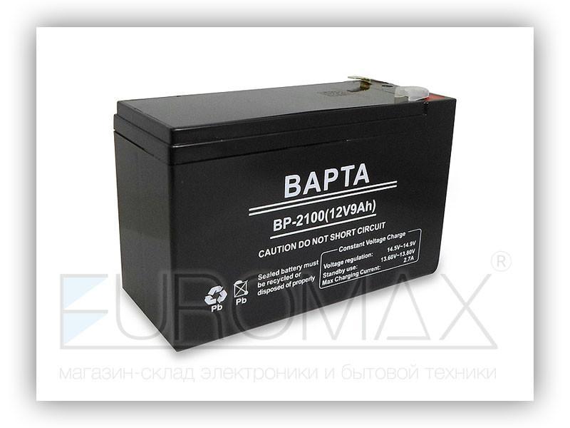 Аккумуляторная батарея BAPTA 12В 9Ач 10шт BP-2100