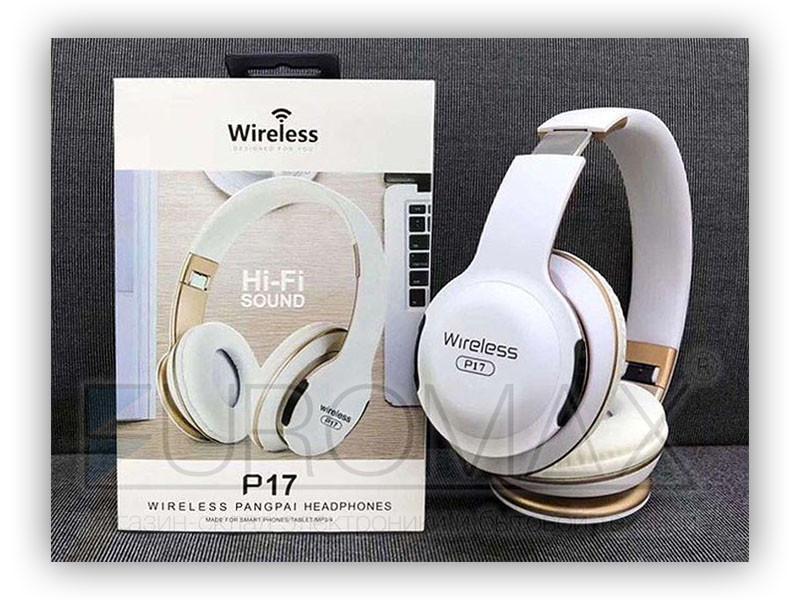 Наушники накладные с Bluetooth P17