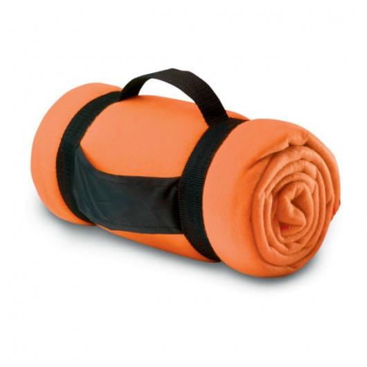 Плед STAVENGER, флис, 150х120 см Оранжевый
