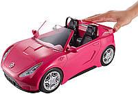 Автомобиль для Барби гламурный розовый кабриолет (Barbie Glam Convertible, DVX59), фото 3