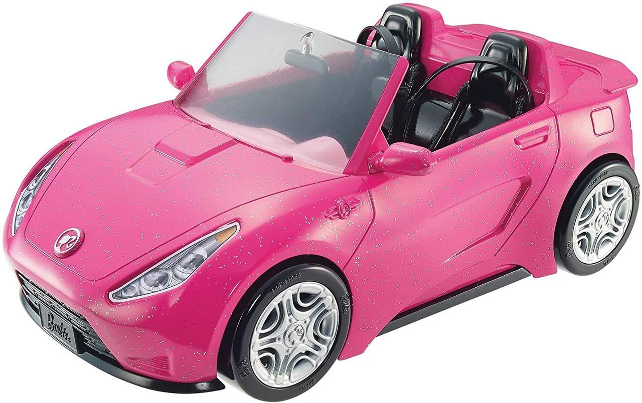 Автомобиль для Барби гламурный розовый кабриолет (Barbie Glam Convertible, DVX59)