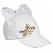 Дитяча кепка для дівчинки Gi Amo Польща UWG07 Білий 52-54