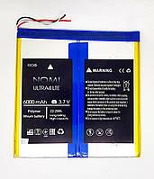 Аккумулятор Nomi Ultra 4 C101014 C101034 C101044  6000 mAh новый оригинал