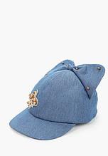 Дитяча кепка для дівчинки Gi Amo Польща UWG07 / 05 Синій 50-52