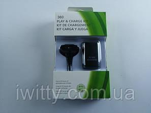 Зарядное устройство PLAY & CHARGE KIT + Аккумулятор  (XBOX 360), фото 2