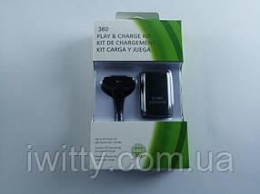 Зарядное устройство PLAY & CHARGE KIT + Аккумулятор  (XBOX 360), фото 3