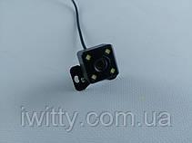 Камера заднего вида  для автомобиля  4LED, фото 2