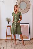 Платье женское летнее рр 46-52, горчица, красный, бежевый, фото 4