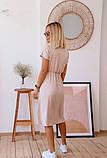Платье женское летнее рр 46-52, горчица, красный, бежевый, фото 5