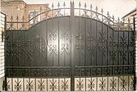 Ворота дворовые, кованые. Разные размеры и цвета покраски. Ручная ковка. Гарантия на покраску.