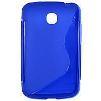 Чехол S-Line для LG E435 Optimus L3 II Dual Blue
