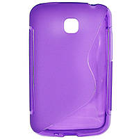Чехол S-Line для LG E435 Optimus L3 II Dual Violet
