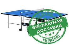 Тенісний стіл для приміщень Athletiс Premium M18 синього кольору