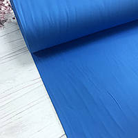 Сатин цвет ярко-синий для постельного белья, мерсеризованный (ТУРЦИЯ шир. 2,4 м) № 44