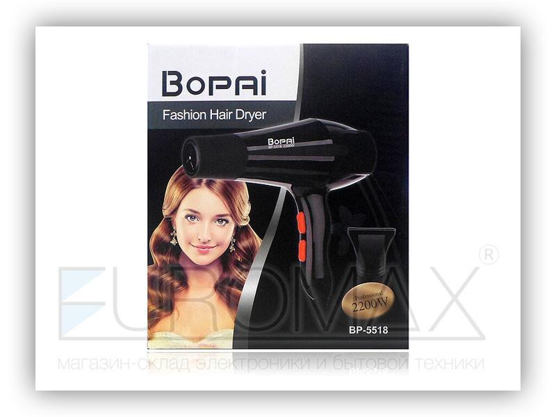 Фен для волос 2200Вт Bopai 5518