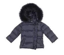 Детская куртка для девочки Одежда для девочек 0-2 Artigli Италия А03857 синий