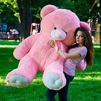Мишка плюшевый большой медведь 180см розовый, Подарок на любой случай жизни